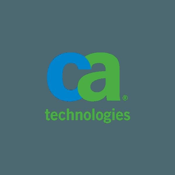 logo ca CA computer associates technologies